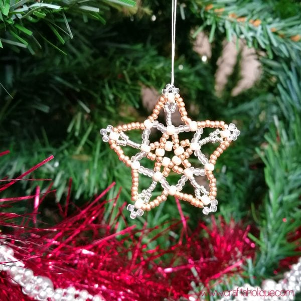 Beaded Star Project – from Mastering Beadwork by Carol Huber Cypher