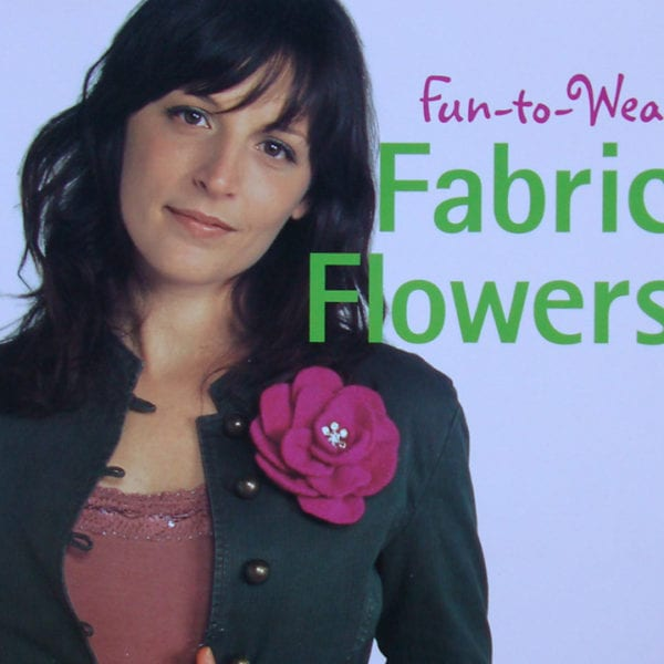 Craft Book Review: Fun to Wear Fabric Flowers