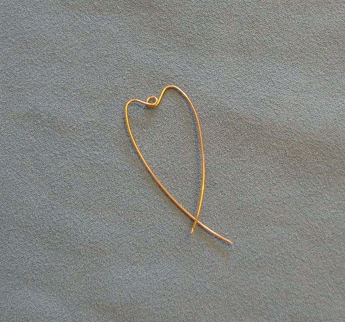 How to make a wire heart component