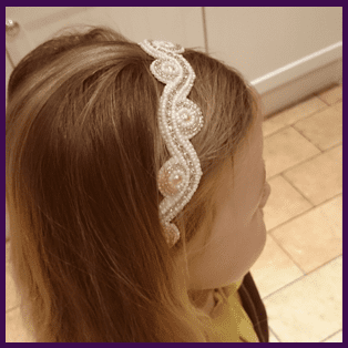 Child's Bead Embroidery Headband Project