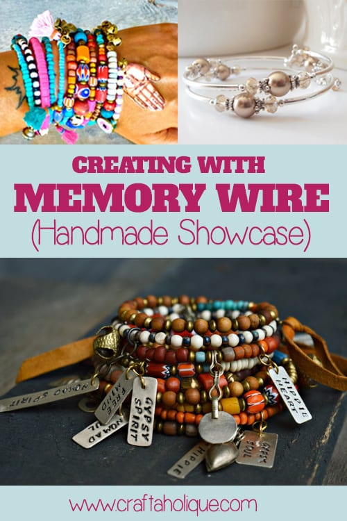 Creating with Memory Wire - a showcase of handmade memory wire projects.