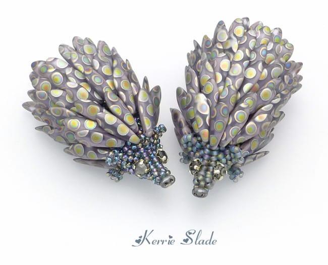Kerrie Slade Midnight Garden Collection - Mr and Mrs Prickles Desk Buddies