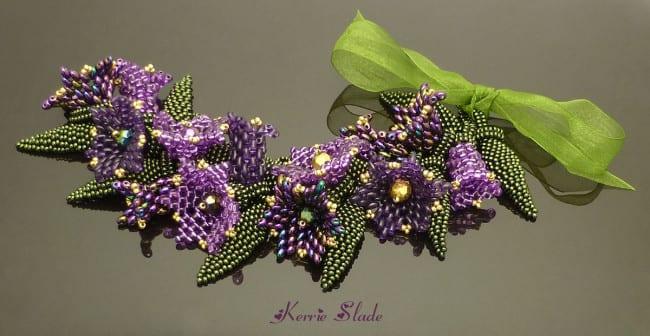 Kerrie Slade Bead Artist - Tropical Twins Bracelet