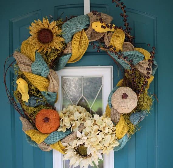Autumn Wreath / Fall Wreath - Handmade Showcase