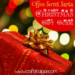 Office Secret Santa Christmas Gift Guide - Handmade Gifts from Etsy