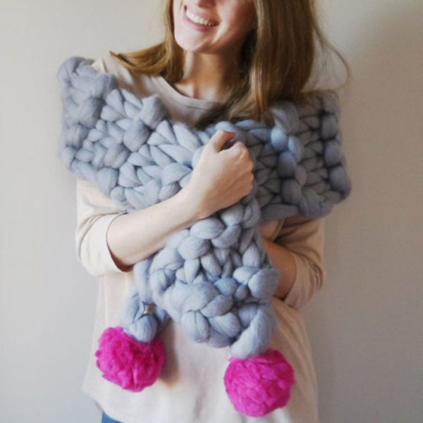 Handmade Showcase: Giant Knitting & Where to Buy Giant Yarn