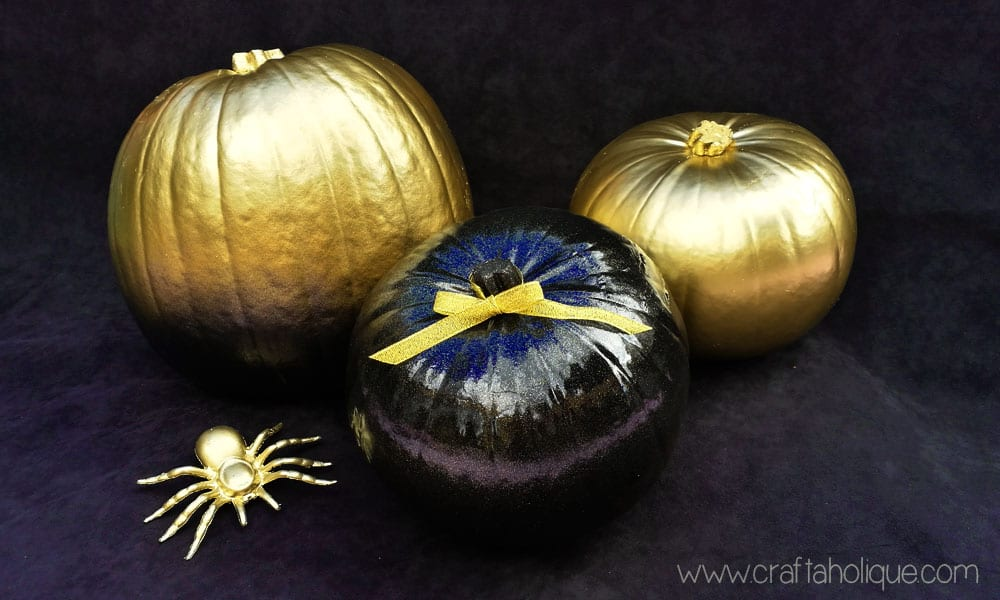 No carve pumpkin ideas for Halloween crafts - Craftaholique