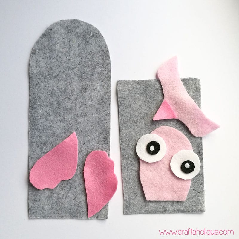 How to make a novelty felt phone case - owl template included