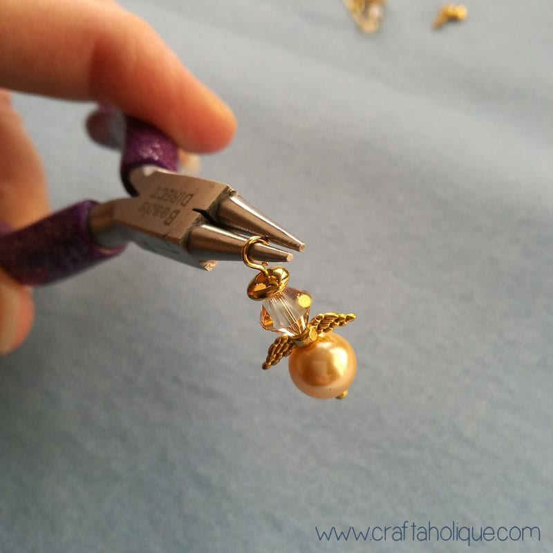 Christmas Earrings - How to Make Beaded Angel Earrings