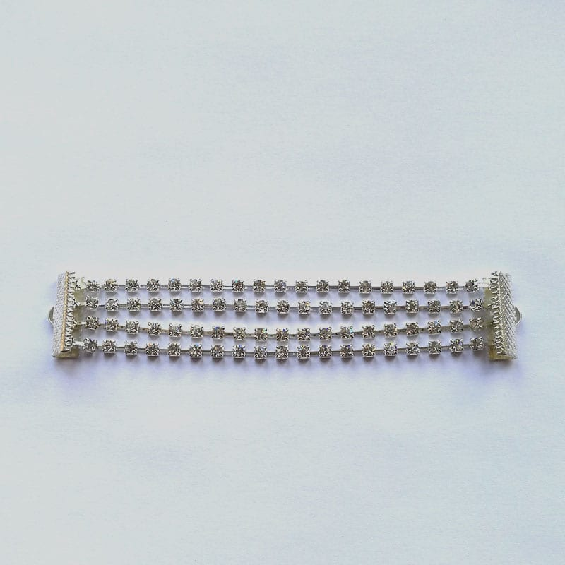 How to make a multi strand bracelet using rhinestone cupchain