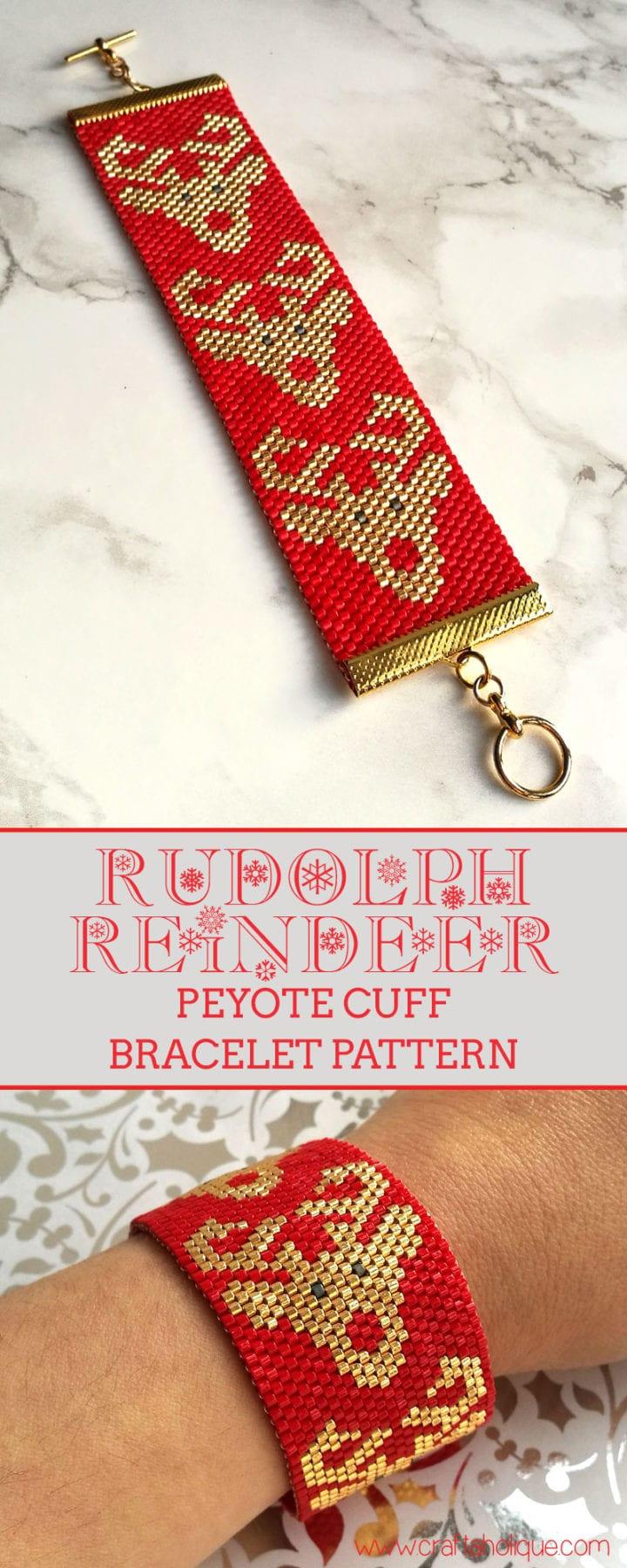 rudolp-reindeer-peyote-stitch-cuff-bracelet-pattern-christmas-beading