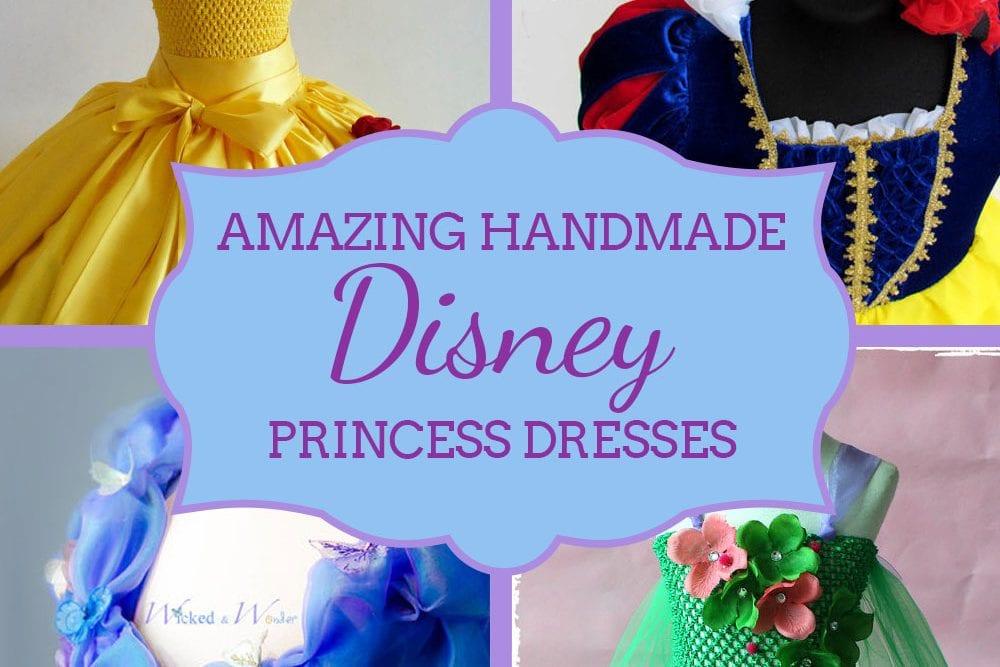 Handmade Showcase: Amazing Disney Princess Dresses