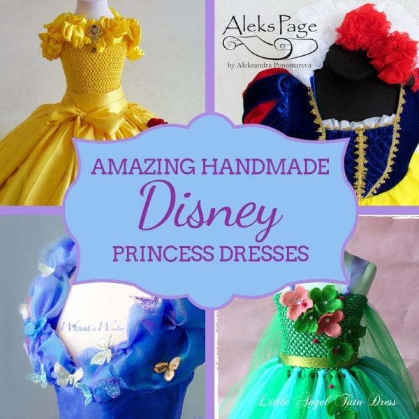 Handmade Showcase: Amazing Disney Princess Dresses
