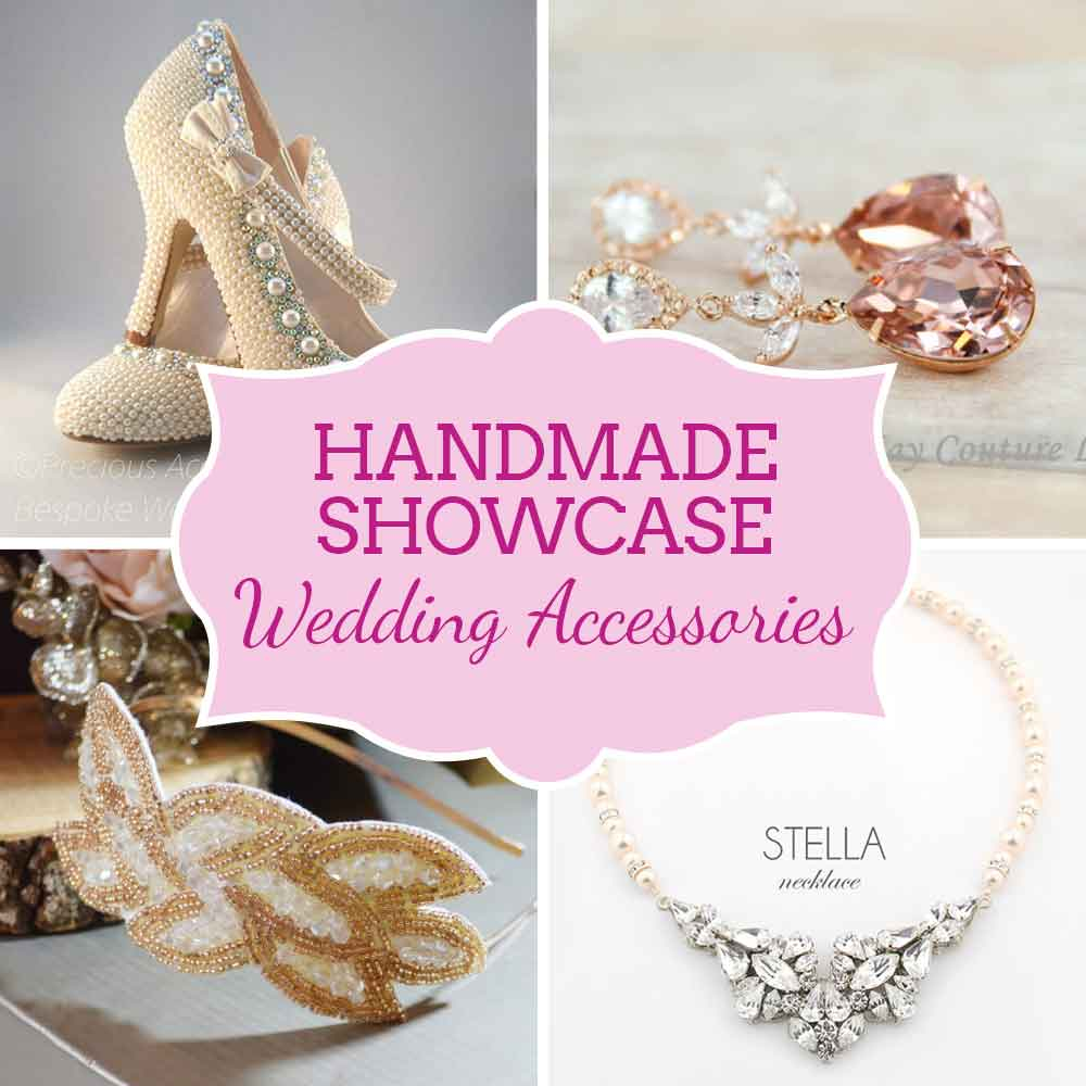Handmade wedding accessories - jewellery, headpieces, fascinators and more - handmade showcase from Etsy