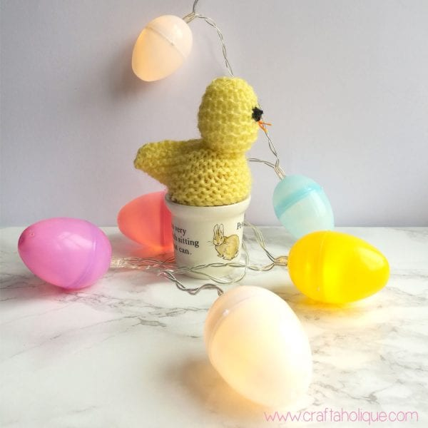 Easter Craft Project! How to Make Easter Egg Fairy Lights