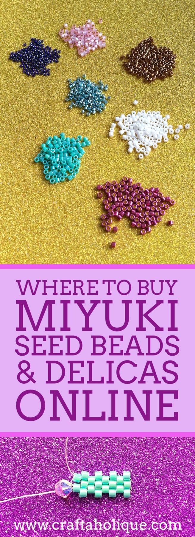 Where to buy Miyuki Seed Beads and Delicas Online - Best Miyuki Stockists