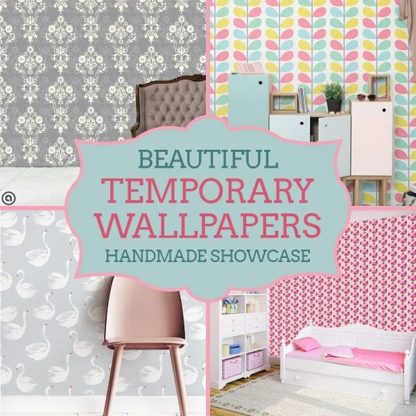 Handmade Showcase: Temporary (Removable) Wallpapers