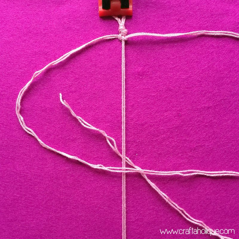 Macrame for Beginners - Square Knot Tutorial for Barefoot Sandals