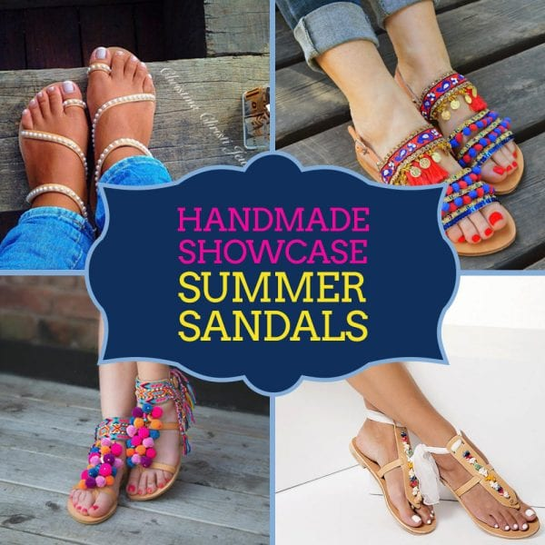 Handmade Showcase: Summer Sandals
