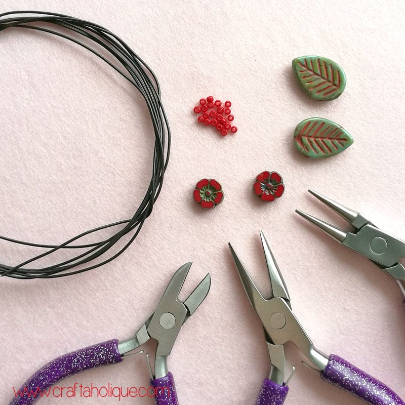 Festival earrings tutorial with artisan beads from The Curious Bead Shop