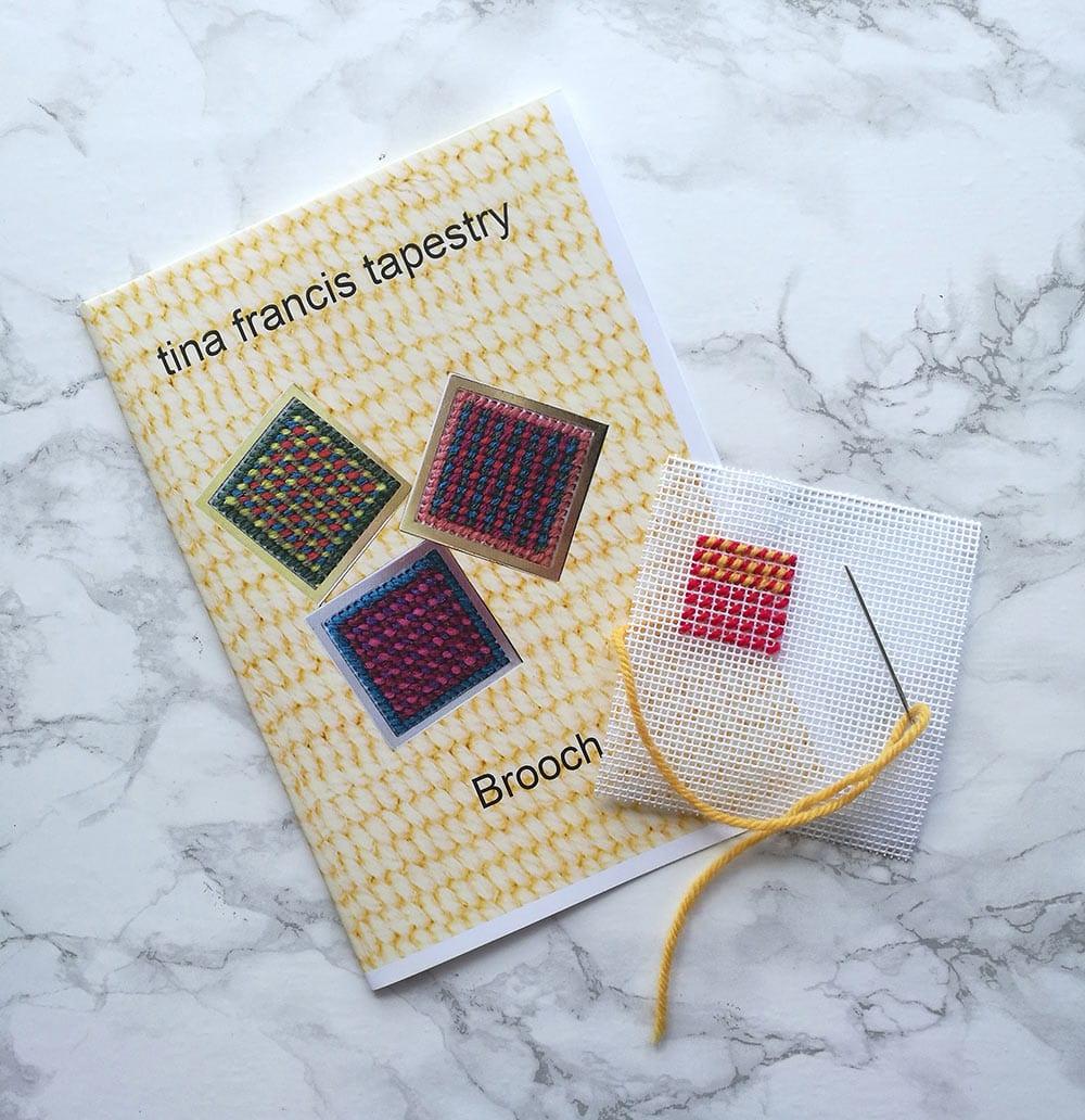 Tina Francis Tapestry Brooch