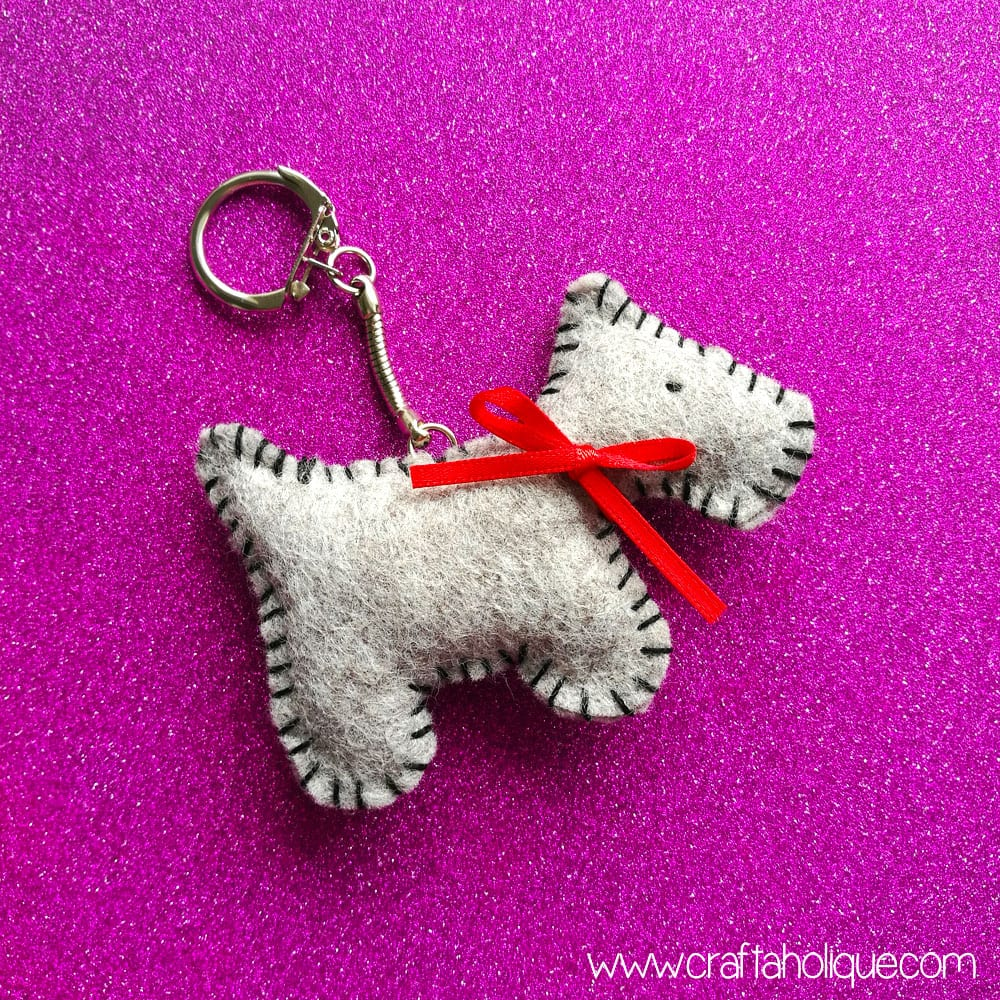 Felt Dog Keyring Project Review - Amazing Crafts
