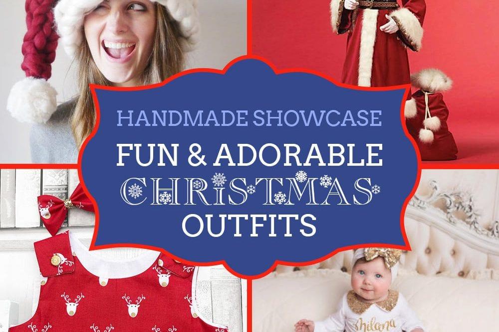 Handmade Christmas Outfits - a showcase from Craftaholique