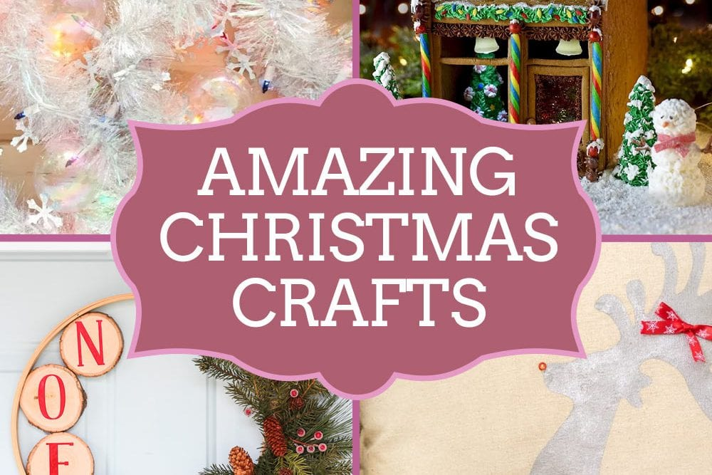 Amazing Christmas Crafts from talented bloggers around the web