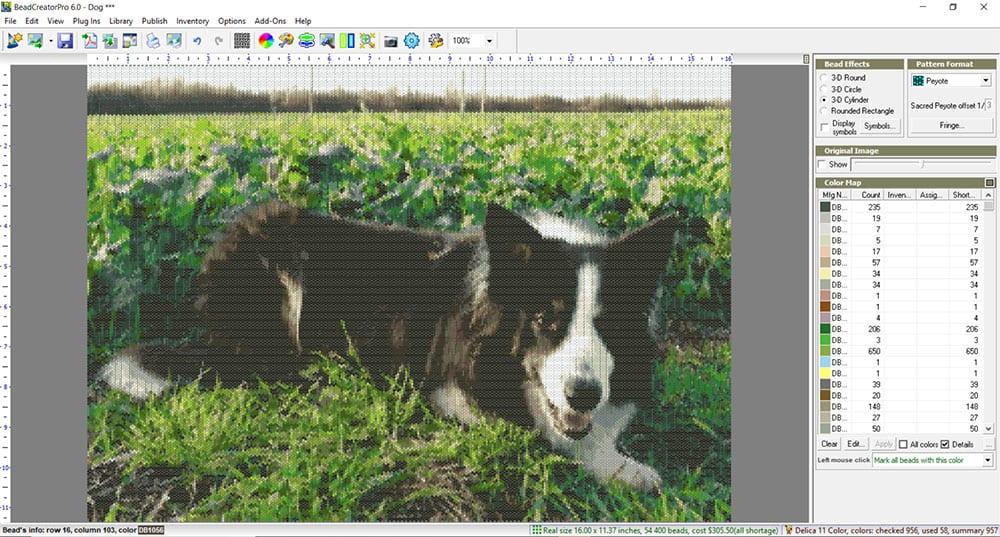 BeadCreator Pro 6 - Creating a pattern in BeadCreator Pro