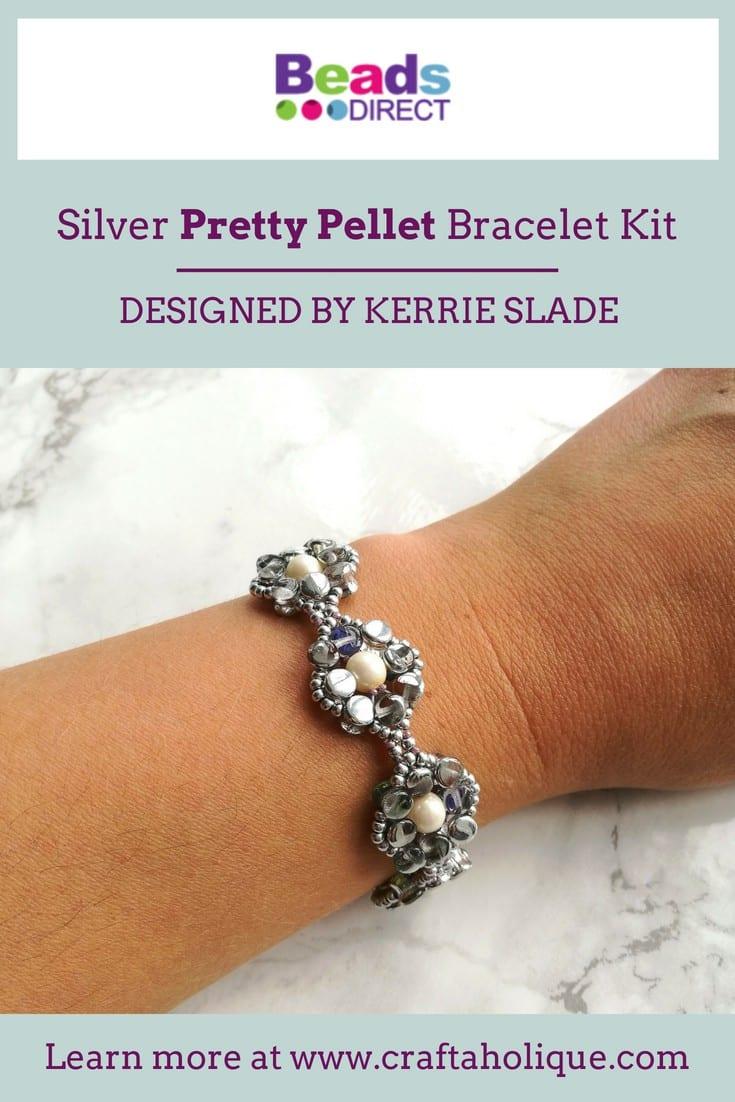 Pretty Pellet Bracelet by Kerrie Slade