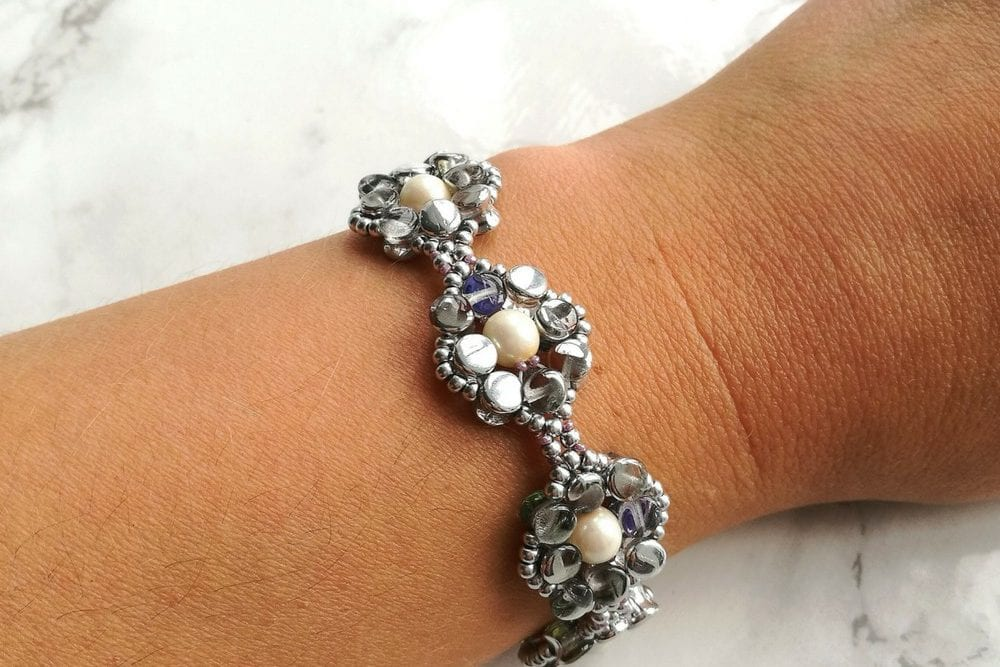 Pretty Pellet Bracelet Kit by Kerrie Slade for Beads Direct