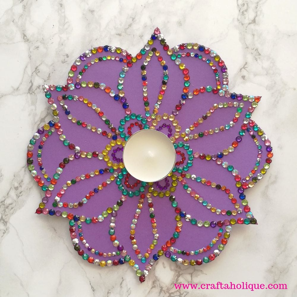 Diwali Tea Light Project with Bostik White Glue