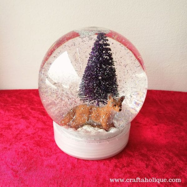 How to make a Christmas Snow Globe with Bostik All Purpose Glue