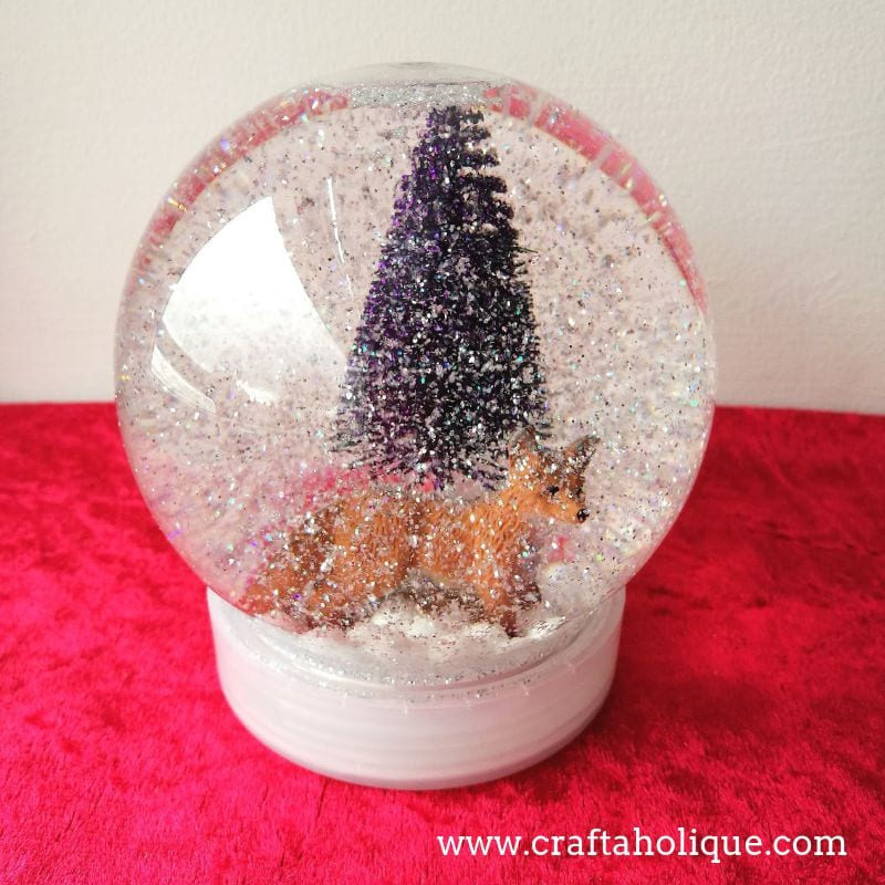A Christmas Snow.How To Make A Christmas Snow Globe With Bostik All Purpose
