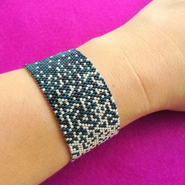 Peyote Bracelet Pattern – Celestial